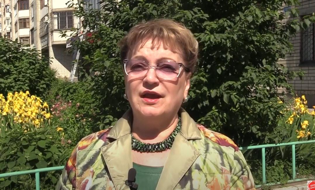 Ольга Алимова о вырубке деревьев в Саратове