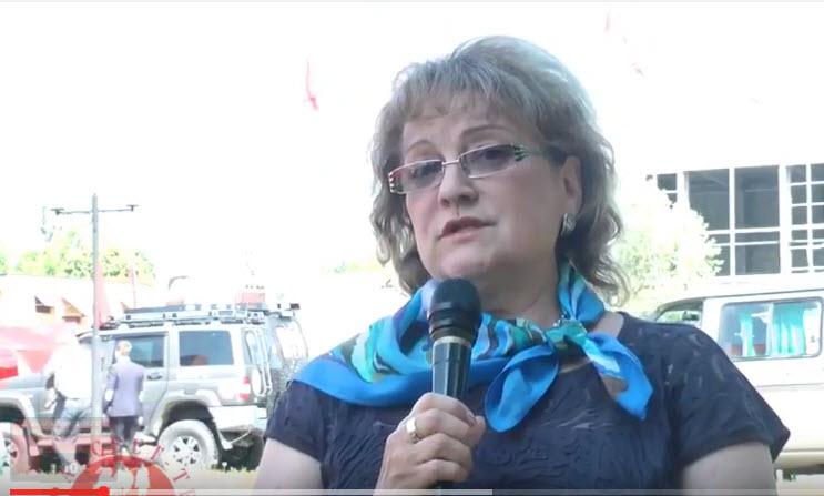 Алимова Ольга продолжает активно встречаться с жителями Саратовской области