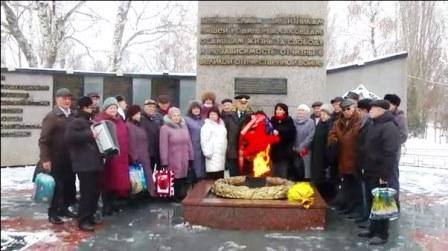 Балаково. Празднование 136 летия И.В.Сталина