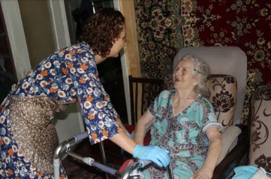 Ольга АЛИМОВА: «Спасательный круг для инвалидов и престарелых»