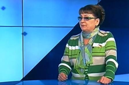 Ольга Алимова в специальном телепроекте « Открытая позиция» на телеканале «Саратов-24»