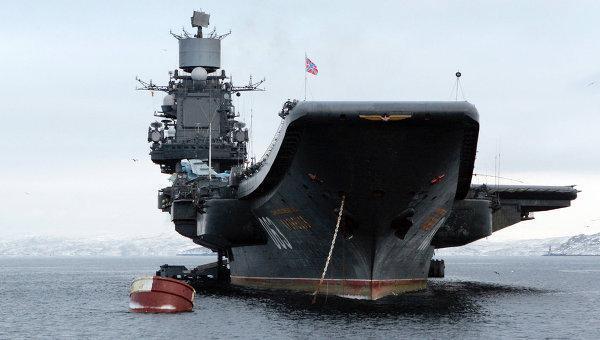 Крейсеры «Адмирал Кузнецов» и «Петр Великий» начали поход к берегам Сирии. Минобороны реализовало идеи депутатского запроса коммунистов Рашкина и Обухова