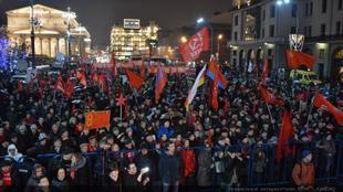 «Октябрь не остался в прошлом, в России вновь настает время вспомнить ленинские и сталинские заветы»