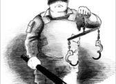 Активиста КПРФ полиция  вывела из дома в наручниках
