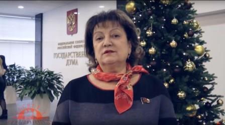 Рассвет ТВ: Новогоднее обращение О.Н. Алимовой