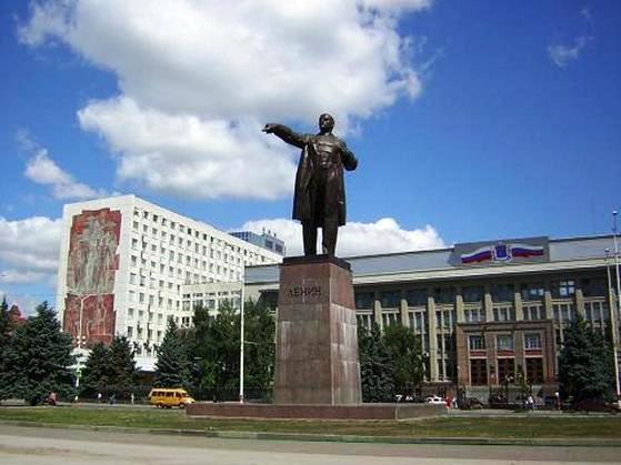 КПРФ против переноса памятника Ленину в Саратове