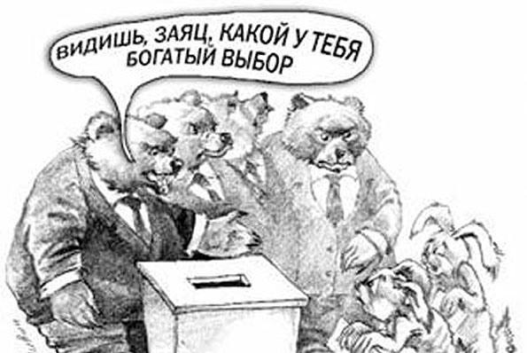 Ольга Алимова: Всем прятаться! Медведи вышли на охоту за голосами