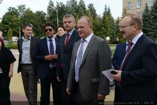 В городе Орле открылся семинар партийного актива Центральной России