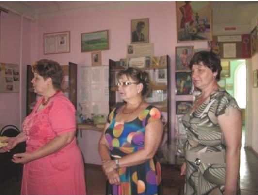 Визит Ольги Алимовой в Турковский район