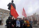 Балаково: «Дело Ленина живёт и побеждает. Руки прочь от Ленина!»