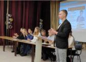 Встреча кандидатов в члены Молодежного парламента при Саратовской областной Думе