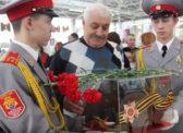 Ольга Алимова в Музее боевой и трудовой славы