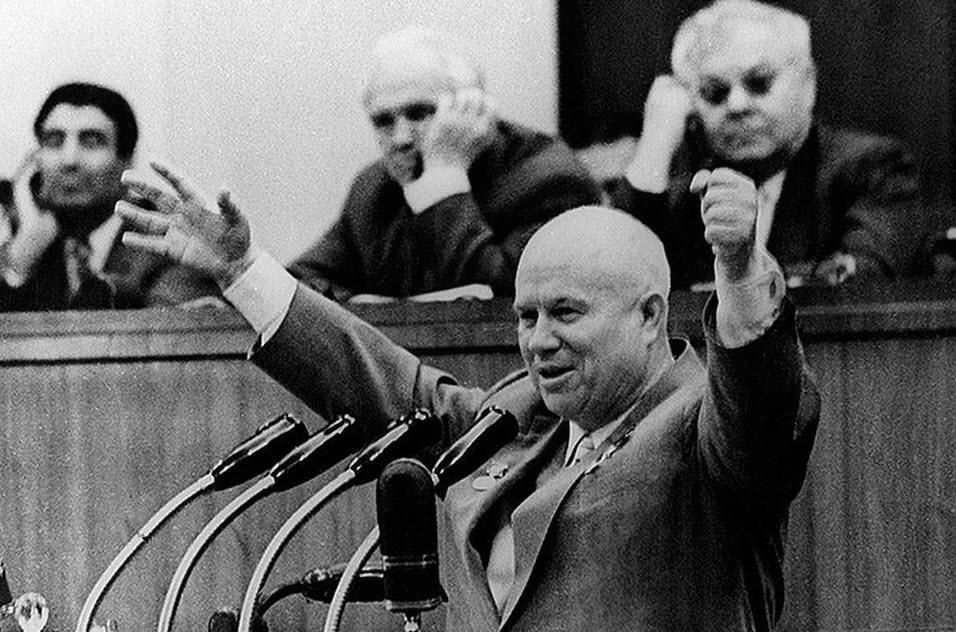 РУСО: 65 лет назад под лозунгом строительства коммунизма Хрущёв развернул страну на путь к обществу потребления