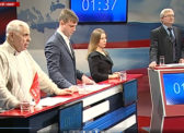 Саратов- телеканал Россия 24. Дебаты доверенных лиц кандидатов на должность Президента РФ 12 марта 2018 года