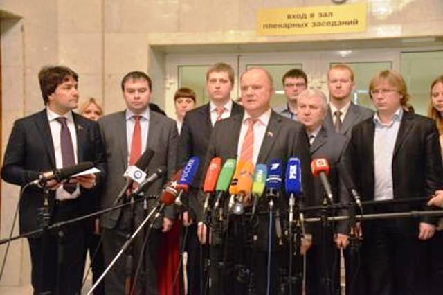 «РассветТВ»: Г.А. Зюганов. Расстрел парламента. 20 лет спустя