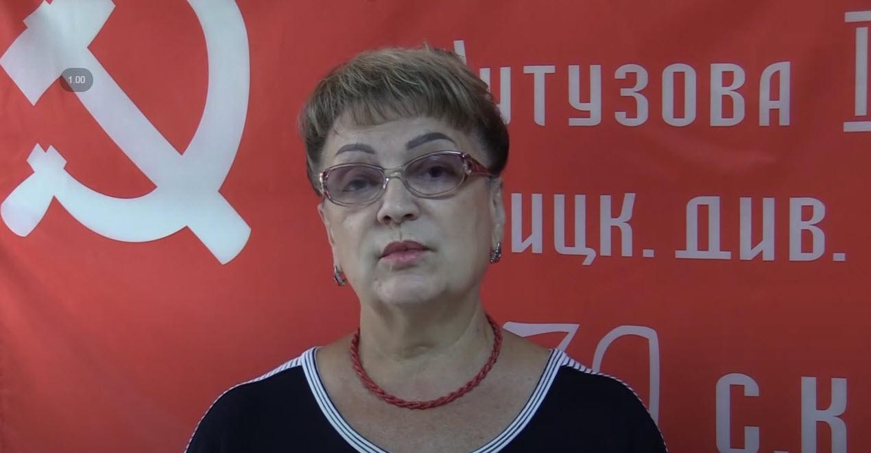 Ольга Алимова: «На выборах 19 сентября голосуем ЗА КПРФ. Наш №1!»