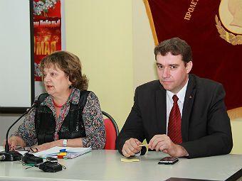 Ольга Алимова и Александр Анидалов провели пресс-конференцию в Саратове
