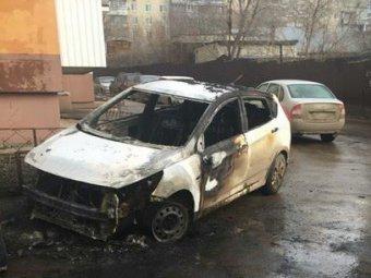 Злоумышленники сожгли автомобиль лидера движения Эвакуаторам.NET Николая Бондаренко