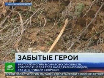 В Балашове останки погибших на войне солдат снова оказались на свалке