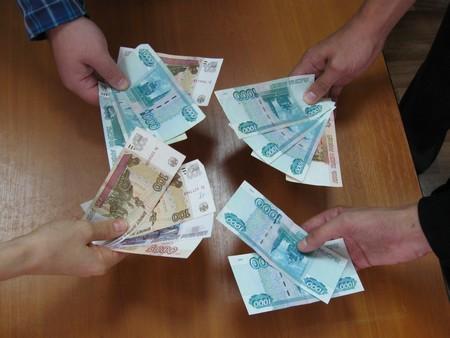 Средний размер взятки в области вырос в 10 раз
