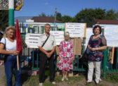 В Турках прошёл пикет КПРФ в поддержку П.Н.Грудинина и совхоза имени Ленина