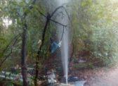 На Ипподромной забили сразу несколько «коммунальных гейзеров»