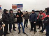 Саратовские дальнобойщики намерены бороться с многомилионными штрафами за перегруз