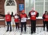 Саратовские коммунисты и комсомольцы провели акцию «Лыжня памяти коммунальных служб Саратова»
