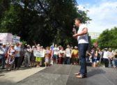 Саратов. Митинг против повышения пенсионного возраста
