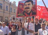 Депутат Саратовской облдумы взял на «Бессмертный полк» большой портрет Сталина