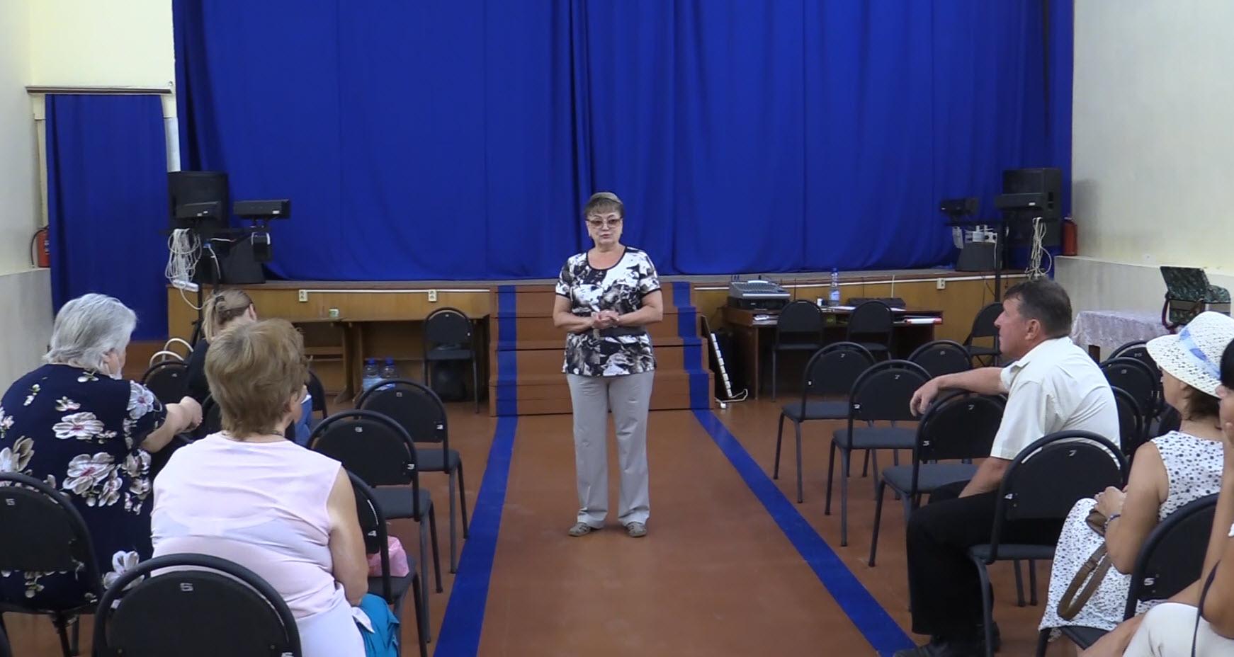Ольга Алимова побывала в Марксовском районе