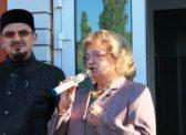 Ольга Алимова приняла участие в праздновании Сабантуя