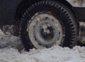 Снегопад. Жители саратовского поселка оказались отрезаны от мира
