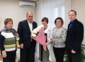 Ольга Алимова встретились с главным врачом областной клинической больницы Владимиром Шульдяковым