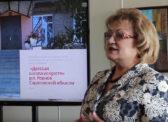 Ольга Алимова побывала на открытии выставки детского рисунка
