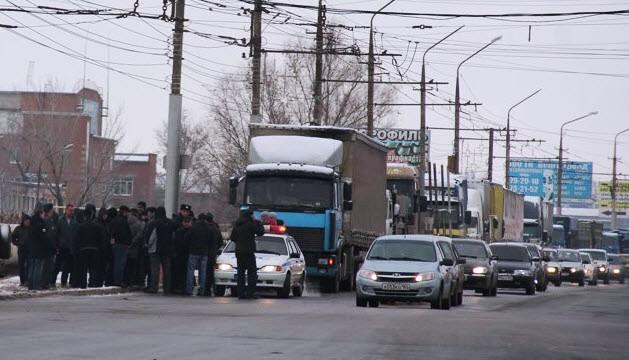 Александр Анидалов : Ситуация с дальнобойщиками в Энгельсе стабилизировалась
