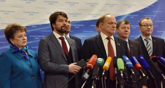 Г.А. Зюганов: Мы не дадим растащить Россию русофобам и антисоветчикам!