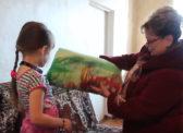 Ольга Алимова помогла погорельцам