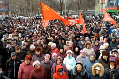 Единороссы снова предлагают ужесточить закон о митингах и увеличить штрафы в 5 раз