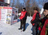 Балашов. Состоялись митинги в честь 100-летия Красной Армии!
