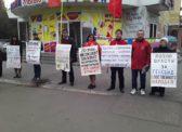 Энгельсские коммунисты ударили очередным пикетом по криминально-буржуазной власти!