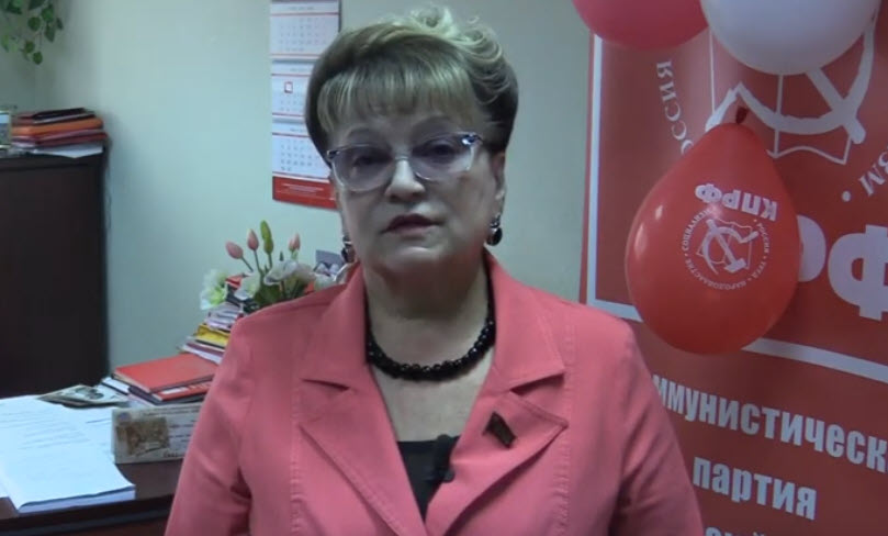 Ольга Алимова выступила за обеспечение населения страны бесплатными средствами защиты от коронавируса