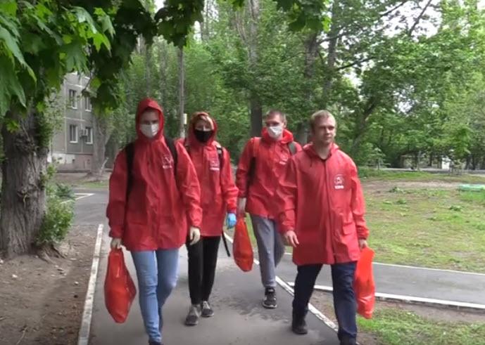 Саратовские комсомольцы помогают тем, кому приходится непросто в дни самоизоляции