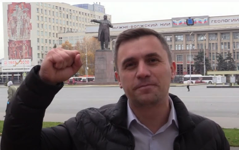 Николай Бондаренко. Поздравление с 7 ноября