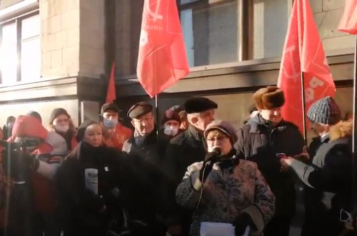 «Родители, не отмалчивайтесь!». Выступление «Нет дистанту!» депутата от КПРФ Ольги Алимовой.