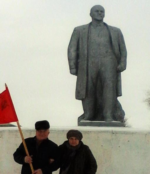 Ершов. Собрание, посвящённое 141-й годовщине со Дня рождения И.В. Сталина