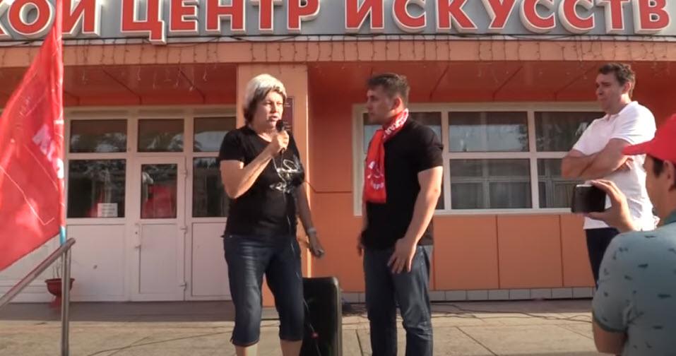 Шок! Николай Бондаренко нашёл в Балаково фанатку пенсионной реформы и власти в целом!