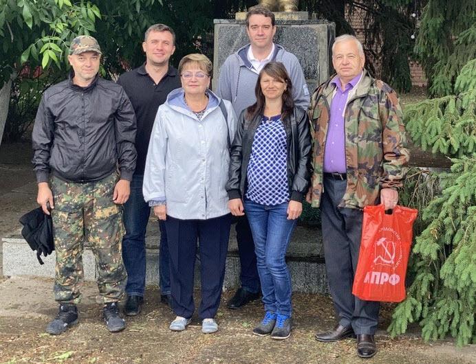 Ольга Алимова посетила Лысые Горы