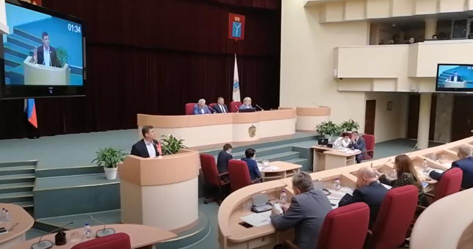 Бондаренко претендует на пост председателя комитета Саратовской областной думы