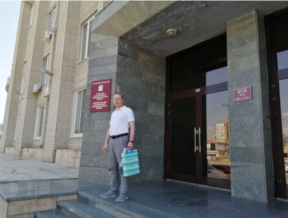 Владимир Есипов сдал документы для выдвижения кандидатом в депутаты ГД РФ